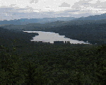Groton Pond from Big Deer Mountain